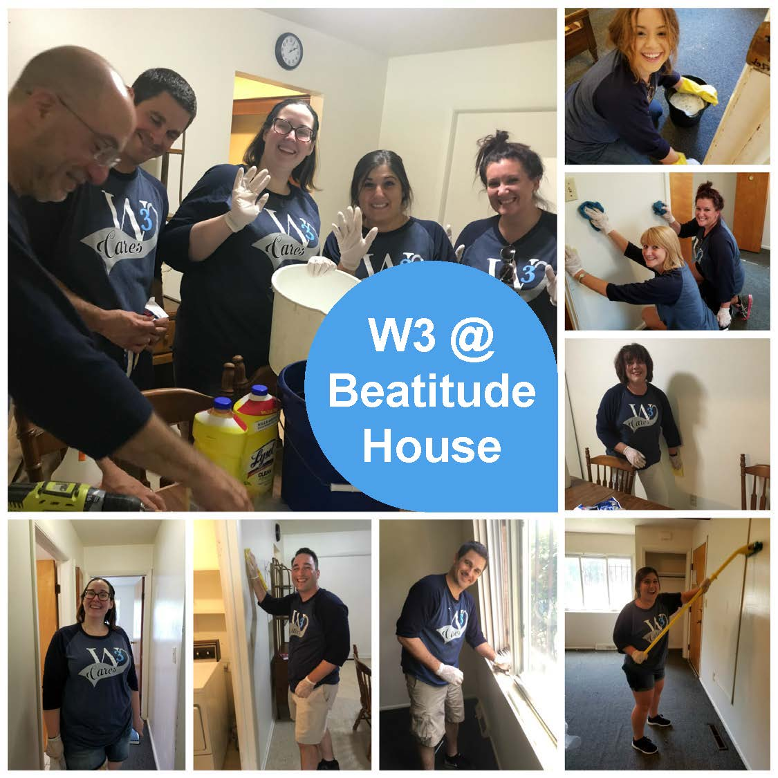 Beatitude Collage - with Heading